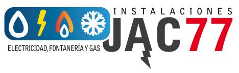 logotipo de ELECTRICIDAD Y FONTANERIA JAC 77 SL.